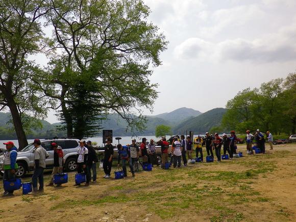 福島チャプター 桧原湖 第一戦 _a0097491_18433256.jpg