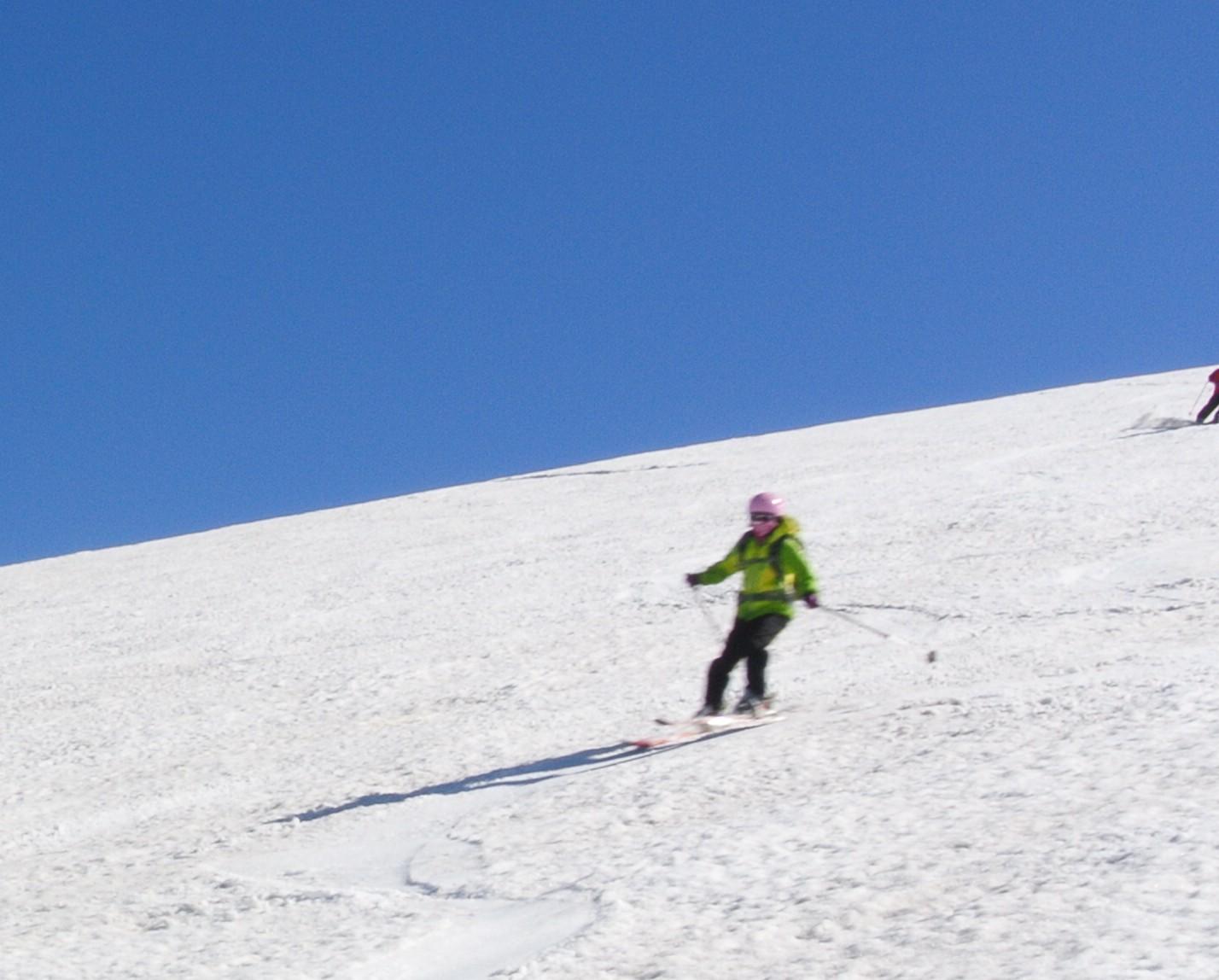 2013年5月31日残雪豊富な鳥海山祓川口コースで春スキーを楽しむ_c0242406_14305813.jpg