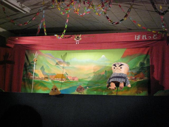 人形劇『さるかに合戦』_c0107515_21342584.jpg