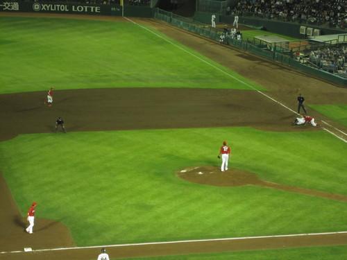 仕事帰りに野球を見に_a0298652_18231837.jpg