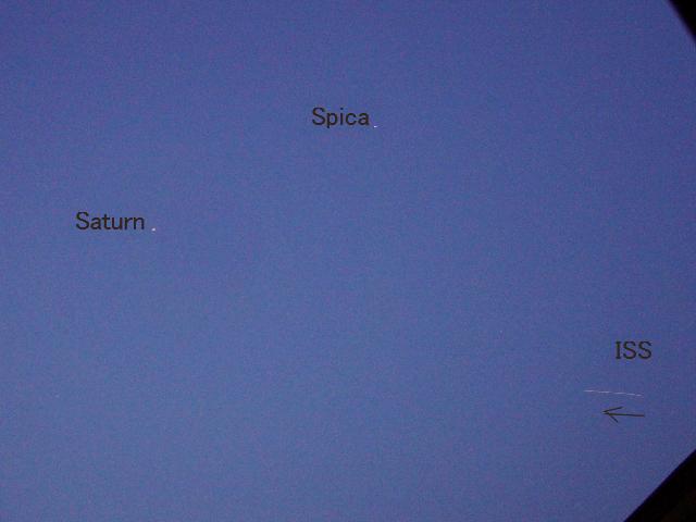 土星とISSのランデブーを観たかった_f0079085_2232104.jpg