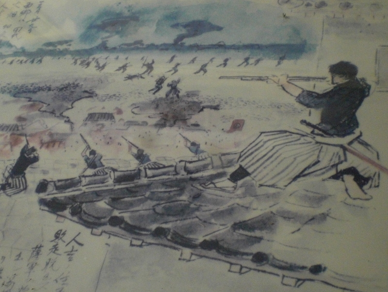 続『翔ぶが如く』を歩く(12)西南戦争 城山決戦の跡地を歩く_c0013687_2333217.jpg