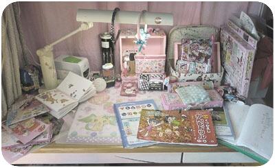 子ども部屋の整理収納(長女・小二)1 Before_c0293787_12422593.jpg