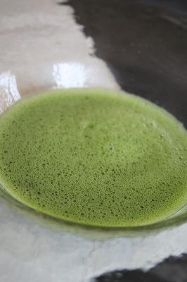 新茶のお抹茶_a0273699_14485660.jpg