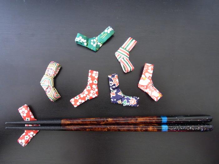 Poggiabastoncini  箸置き : Origami Ⅰ_b0246303_19111227.jpg