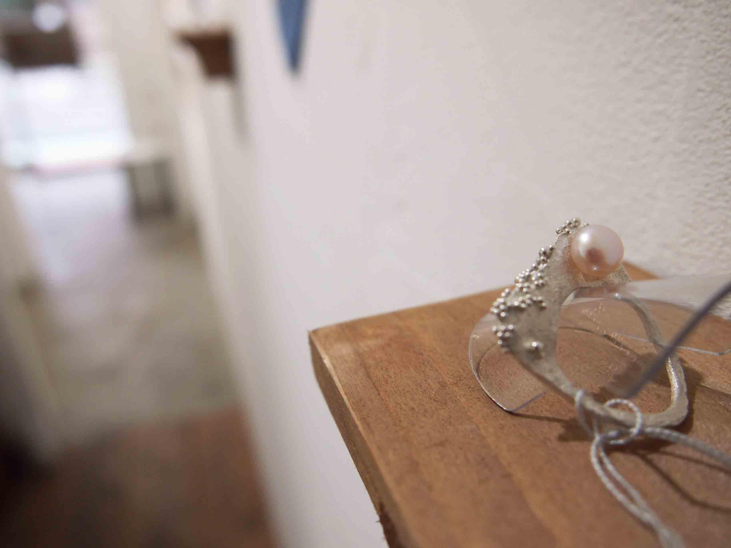 彫金3人展「夏のはじまり」@2日目-作家紹介/松林紀子[Gnome]_e0272050_16392862.jpg
