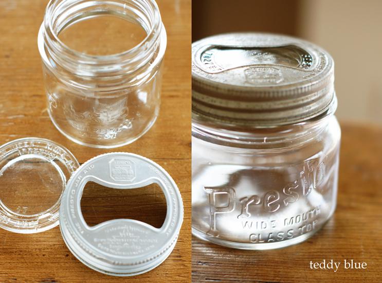 vintage Presto glass jar  ヴィンテージ ガラスジャー_e0253364_20113697.jpg