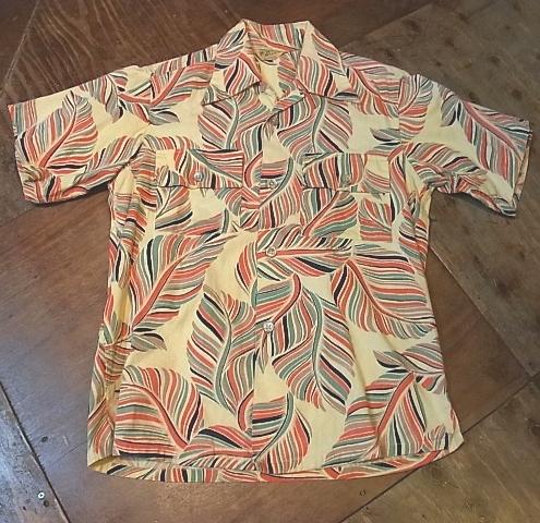 40'S Brent コットンツイル ハワイアンシャツ!_c0144020_15123948.jpg