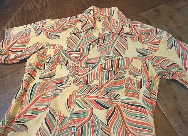 40'S Brent コットンツイル ハワイアンシャツ!_c0144020_15124125.jpg