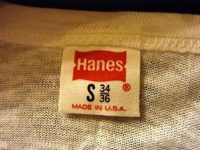 6/8(土)入荷!70\'S  デッドストック HANES バインダーVネックTシャツ!_c0144020_1537145.jpg