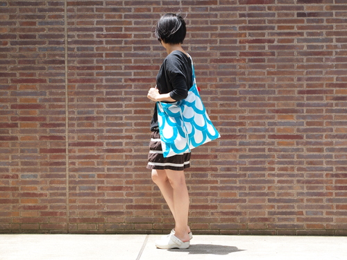 新商品「 wear bag 」 デビュー!_e0243765_1650495.jpg