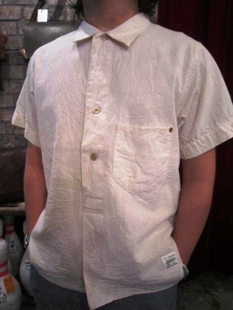 """ANACHRONORM \""""Pull Over S/S Shirts  Wide Fit\"""" ご紹介_f0191324_923423.jpg"""