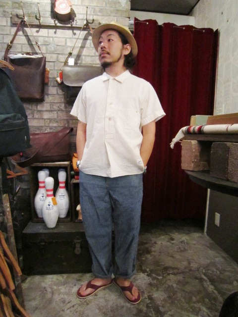 """ANACHRONORM \""""Pull Over S/S Shirts  Wide Fit\"""" ご紹介_f0191324_9241691.jpg"""
