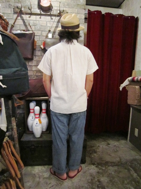 """ANACHRONORM \""""Pull Over S/S Shirts  Wide Fit\"""" ご紹介_f0191324_924553.jpg"""