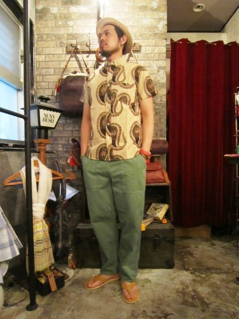 """ANACHRONORM \""""Pull Over S/S Shirts  Wide Fit\"""" ご紹介_f0191324_9294599.jpg"""
