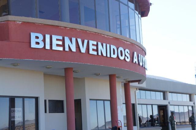 ボリビアの旅(36) ウユニ空港からラパス・エアアルト空港へ_c0011649_1343156.jpg