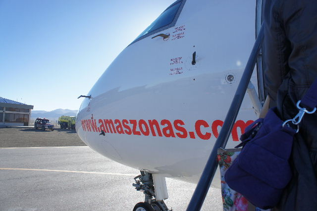 ボリビアの旅(36) ウユニ空港からラパス・エアアルト空港へ_c0011649_6404657.jpg