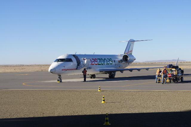ボリビアの旅(36) ウユニ空港からラパス・エアアルト空港へ_c0011649_6453336.jpg