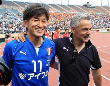 「私をブラジルW杯に連れて行って」:日本のキングカズから世界のキングカズへ!_e0171614_18565935.jpg