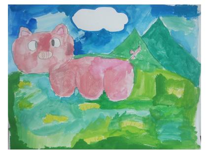 色づくり・小学生クラス_f0211514_21434133.jpg