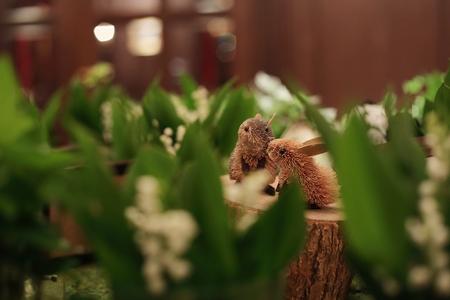 スズランのメモリアルテーブル シェ松尾青山サロン様の装花_a0042928_21125674.jpg