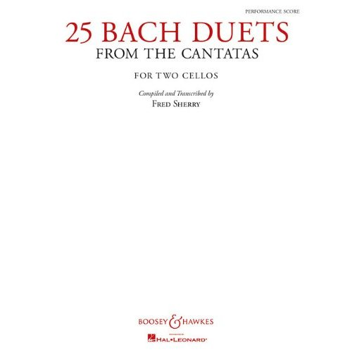 【25 Bach Duets from the Cantatas: Two Cellos】 _e0064847_22345041.jpg