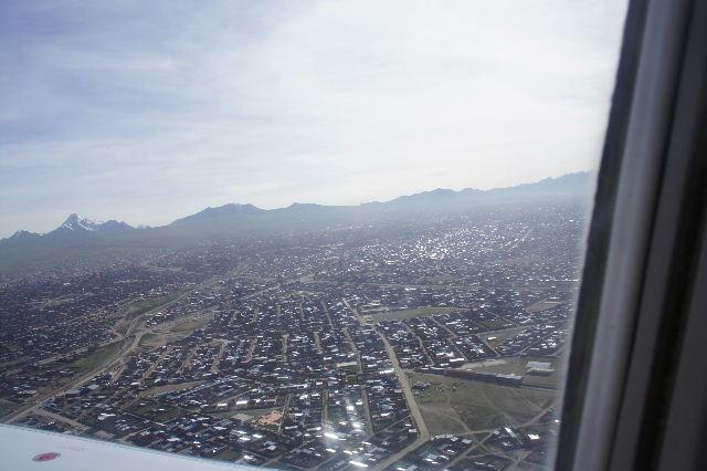 ボリビアの旅(36) ウユニ空港からラパス・エアアルト空港へ_c0011649_5214195.jpg
