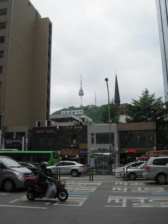 食いしん坊ふたり旅<5月・ソウル> 10☆新緑の南山~素敵カフェ_f0236260_22382163.jpg