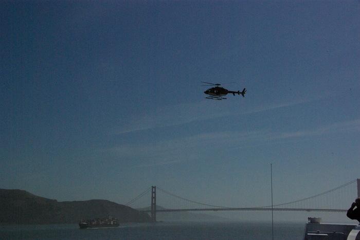 サンフランシスコ入港 Golden Gate Bridge, SF_e0140365_23512929.jpg