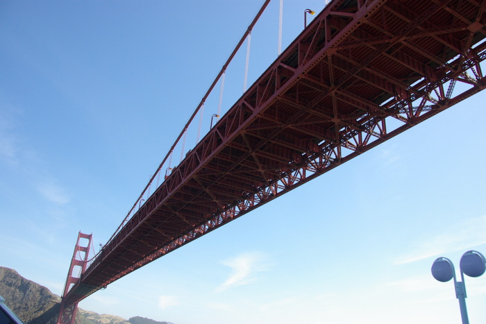 サンフランシスコ入港 Golden Gate Bridge, SF_e0140365_2353260.jpg