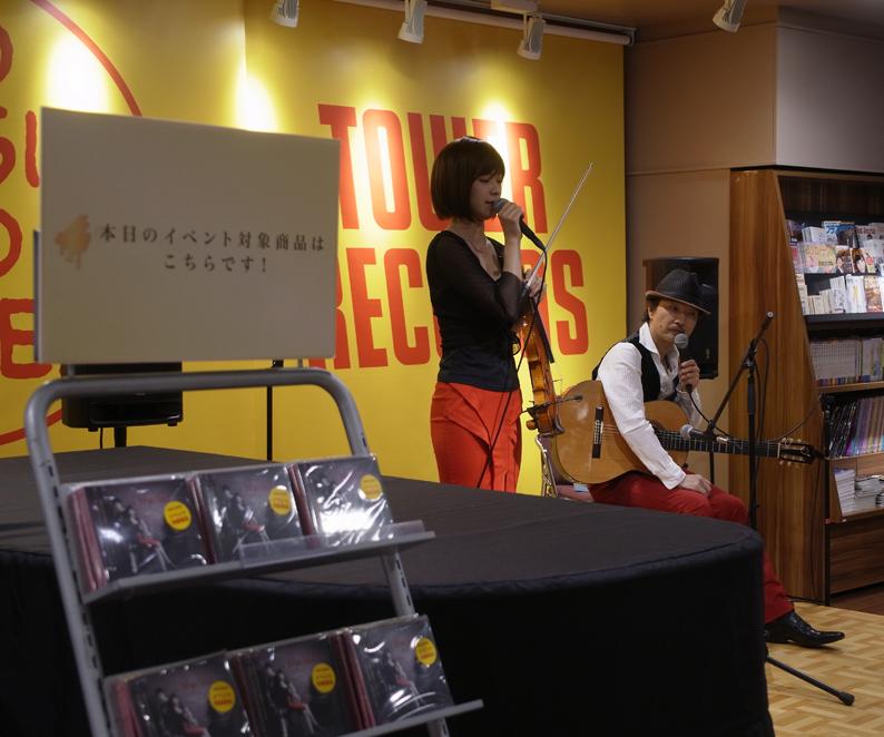 無事終了!Hyclad ミニライブ・サイン会@タワーレコード渋谷店_e0193905_1634711.jpg