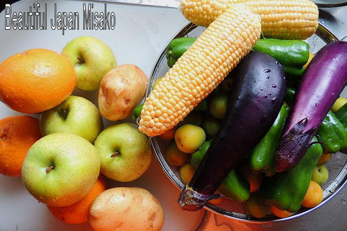 野菜酵素 作りました~ .。・:*:・゚`☆、。_c0067206_17461972.jpg