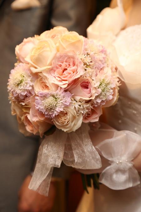 新郎新婦様からのメール 空と花  と梱包技術 如水会館様へ_a0042928_22471845.jpg