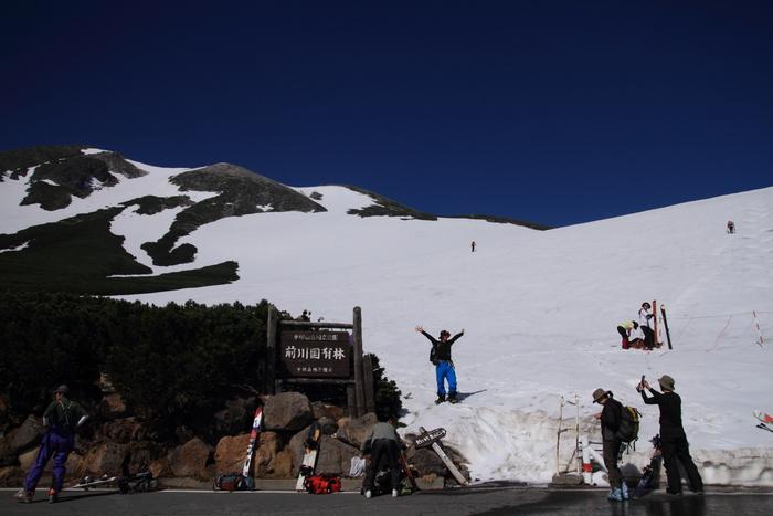 乗鞍でスキー_a0203733_17471047.jpg