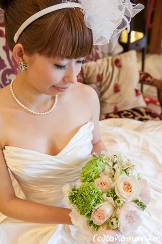 結婚式のブーケ。主役級の脇役?!_c0024345_6383449.jpg