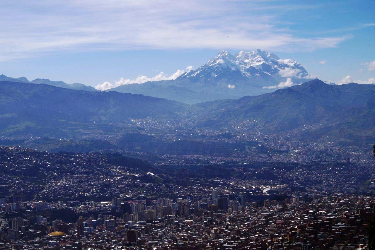 ボリビアの旅(37) 展望台から眺めたラパスの風景_c0011649_13133442.jpg