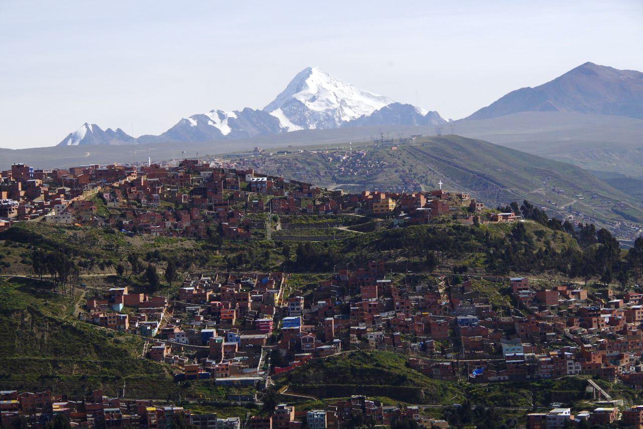 ボリビアの旅(37) 展望台から眺めたラパスの風景_c0011649_13263115.jpg