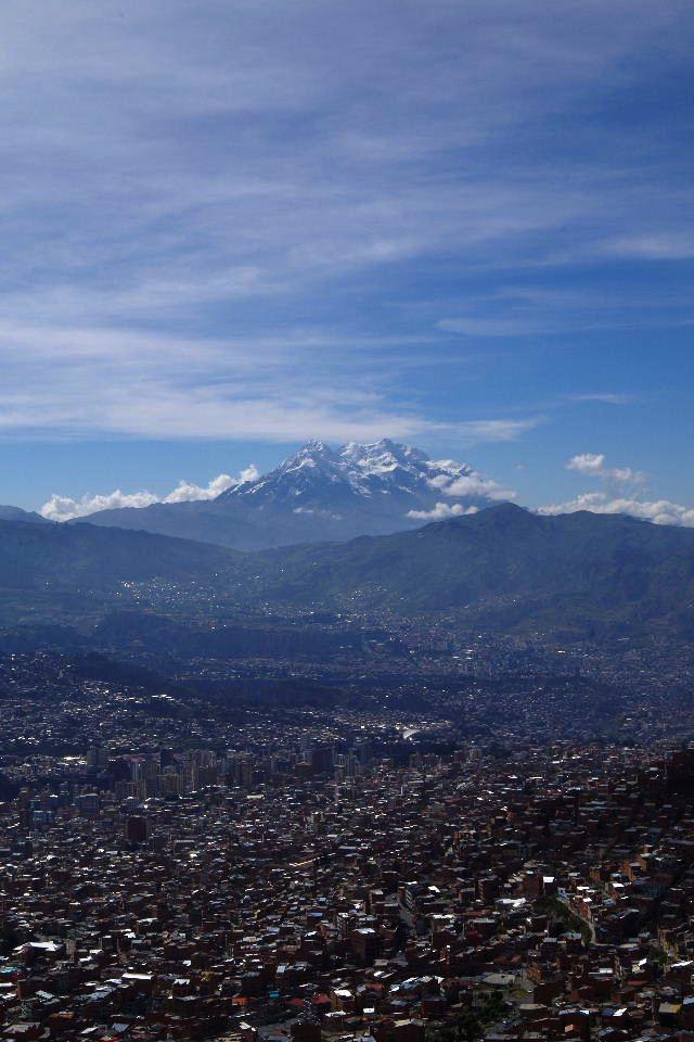 ボリビアの旅(37) 展望台から眺めたラパスの風景_c0011649_14241363.jpg