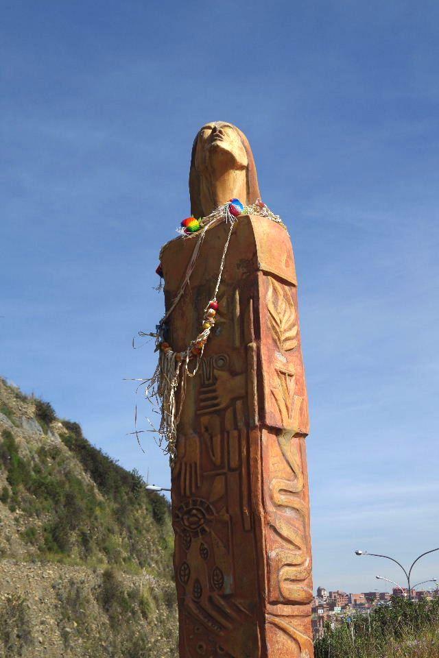 ボリビアの旅(37) 展望台から眺めたラパスの風景_c0011649_14261174.jpg