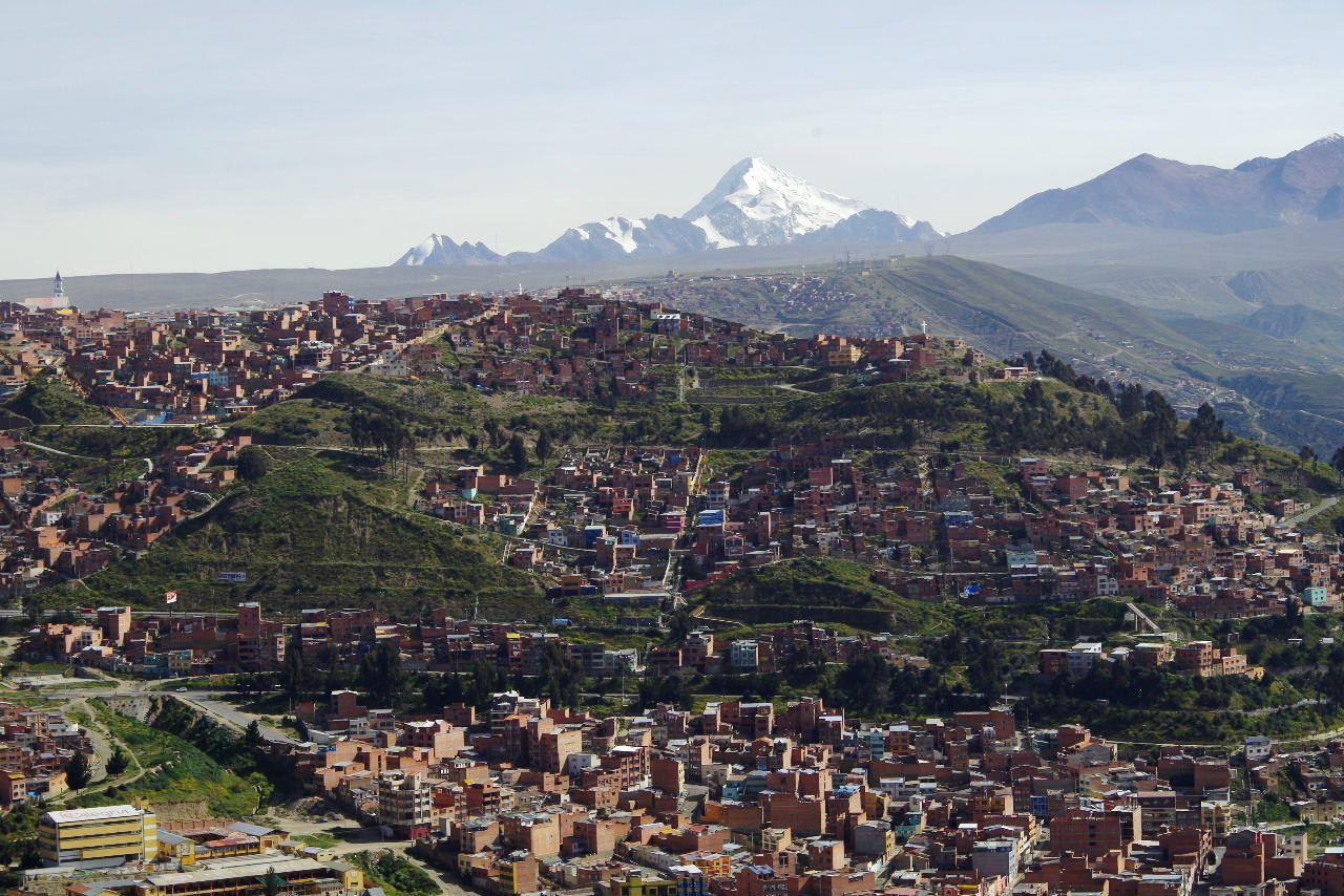 ボリビアの旅(37) 展望台から眺めたラパスの風景_c0011649_743980.jpg