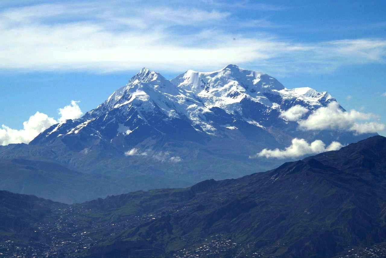 ボリビアの旅(37) 展望台から眺めたラパスの風景_c0011649_745774.jpg