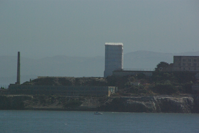 サンフランシスコ入港 Golden Gate Bridge, SF_e0140365_01060.jpg