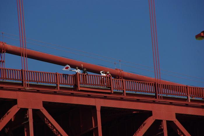 サンフランシスコ入港 Golden Gate Bridge, SF_e0140365_038350.jpg