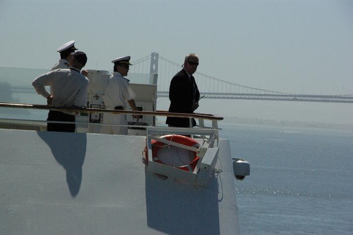 サンフランシスコ入港 Golden Gate Bridge, SF_e0140365_054927.jpg