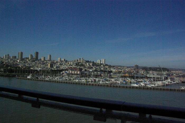 サンフランシスコ入港 Golden Gate Bridge, SF_e0140365_063352.jpg