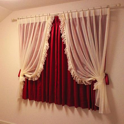 レースカーテンを楽しむ、子供室のカーテンスタイル。_c0157866_19181047.jpg