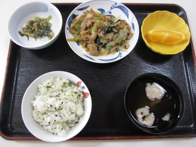 らくえんでの食事_e0191174_10123897.jpg