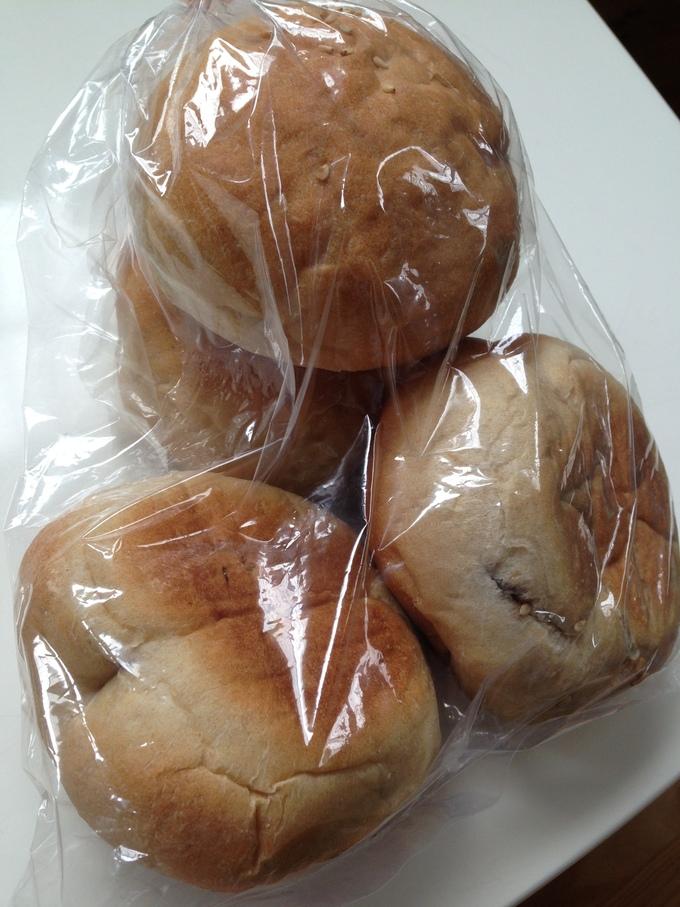 アスパラ、手作りパン、お土産!_b0213831_15353055.jpg