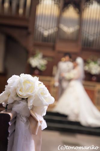 結婚式の長い1日、笑顔で終了〜。_c0024345_654938.jpg
