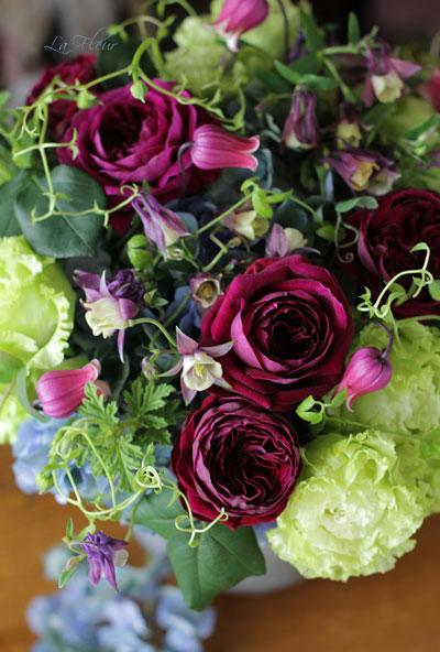 parisから持ち帰った器にお花を活けてみました♪_f0127281_0104092.jpg
